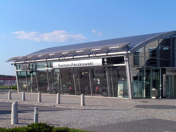 Salon samochodowy Audi
