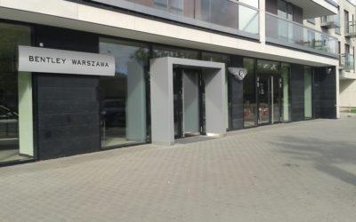 Salon samochodowy Bentley