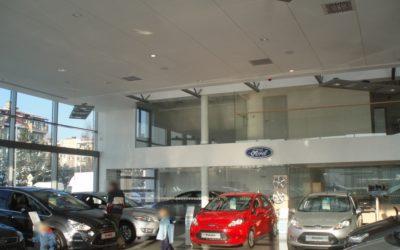 Kompleks salonów samochodowych Skoda-VW-Ford z serwisem
