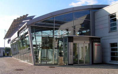 Kompleks salonów samochodowych Audi VW