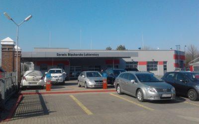 Rozbudowa salonu samochodowego Toyota w Lubinie