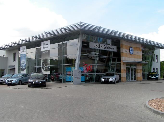 Salon samochodowy VW