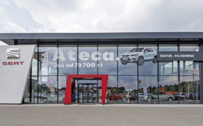 Salon samochodowy marki SEAT – Volkswagen z serwisem